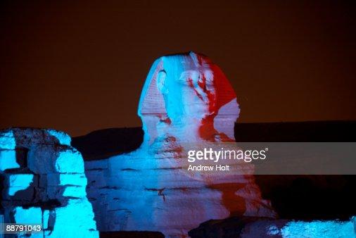 Sphinx in Cairo, Egypt.