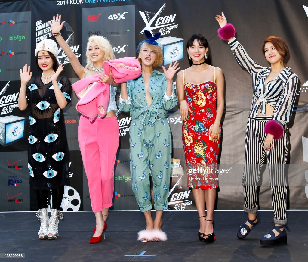 Spica attend KCON 2014 at the Los Angeles Memorial Sports Arena on August 10, 2014 in Los Angeles, California.