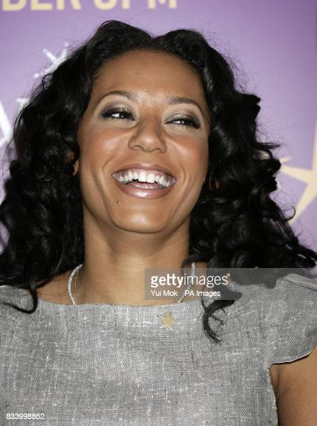 Spice Girl Mel B meets shoppers at Selfridges on Oxford Street central London where she sang Christmas carols to help raise donations for the Make A...