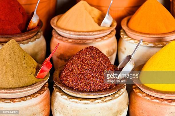 Spice market, Houmt Souk, Djerba, Tunisia