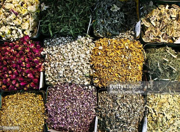 Spice market in damascus syria