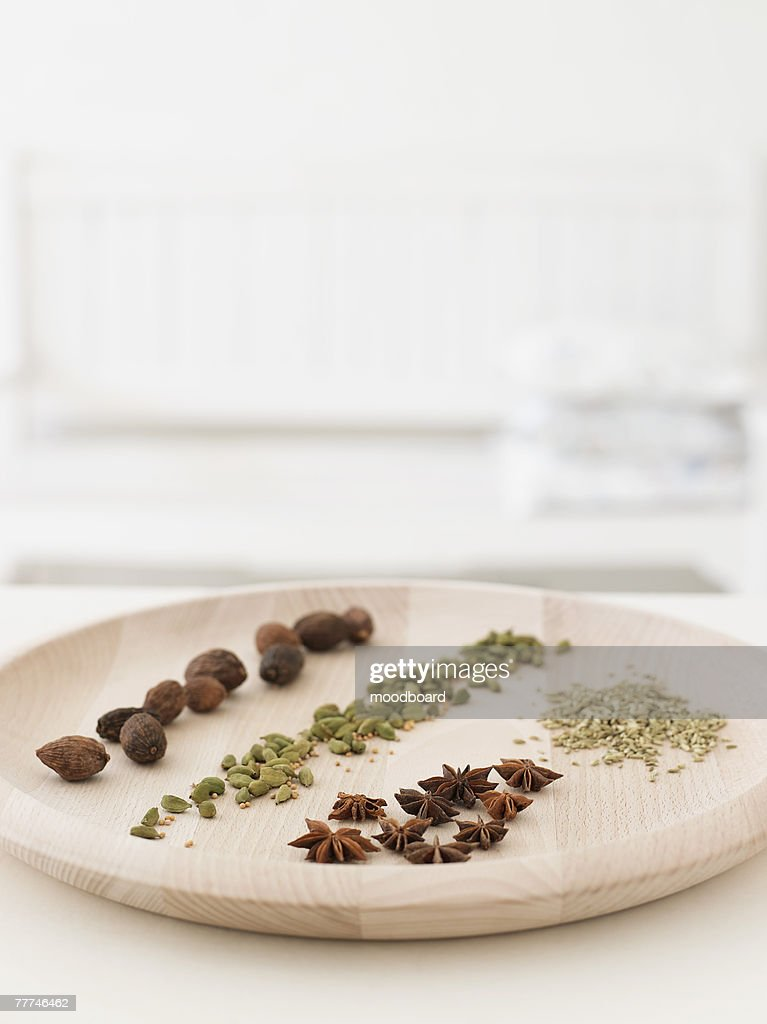 Spice Platter : Stock Photo