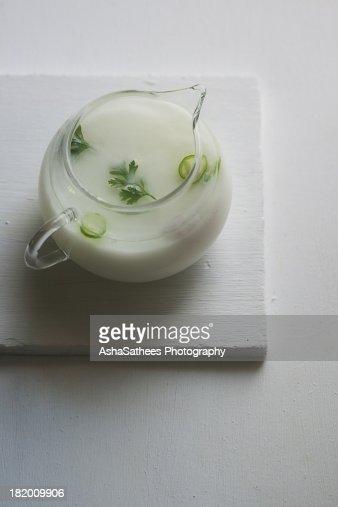 Spiced buttermilk