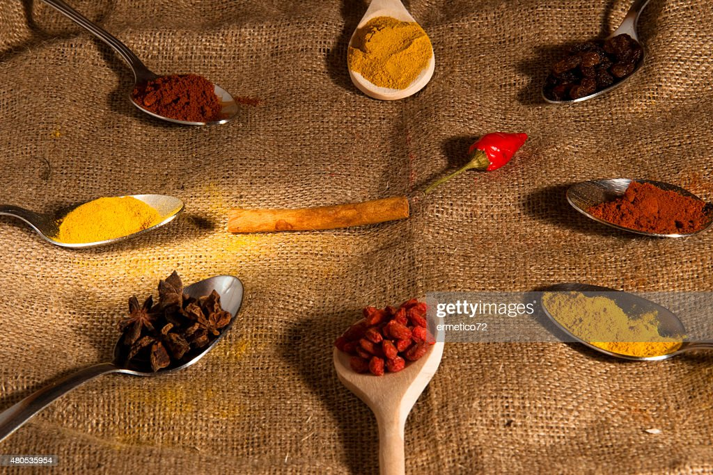 spices and flavors : Stock Photo