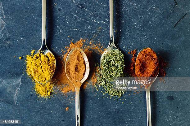 Spices and spoons