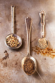 Spices and Vintage Spoons