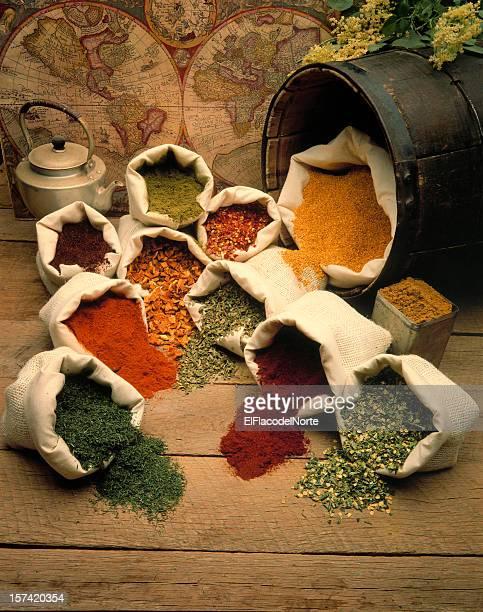 Spices de todo el mundo