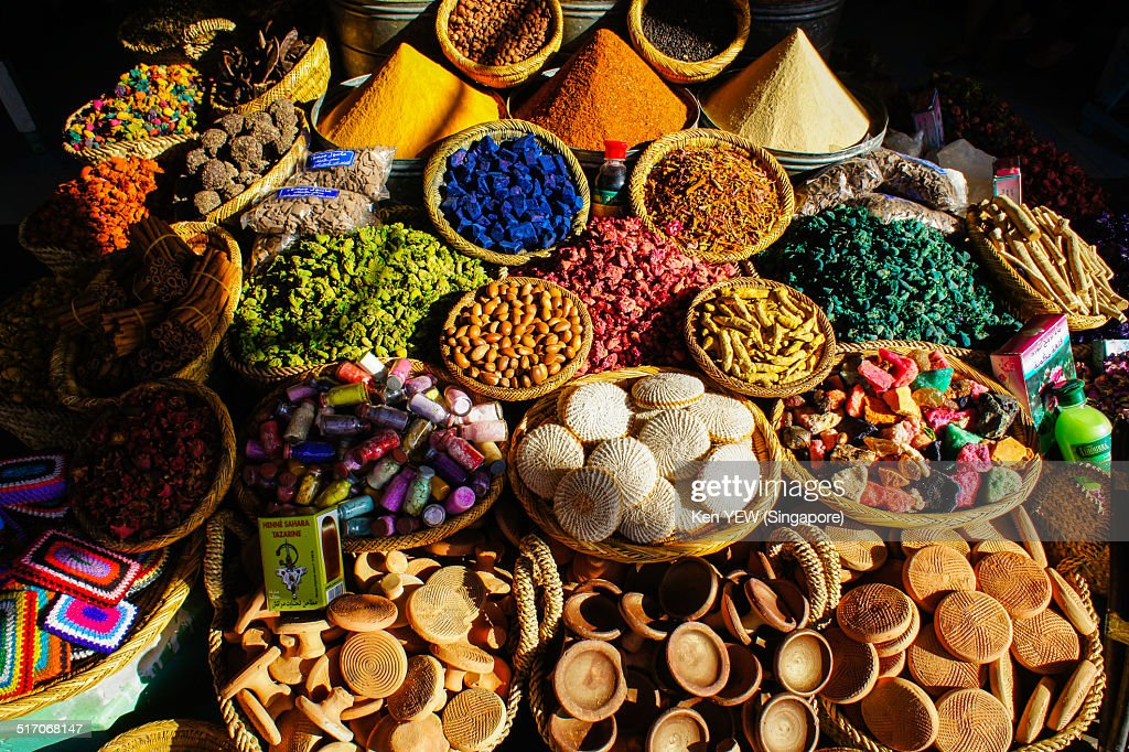Spices in Morocco
