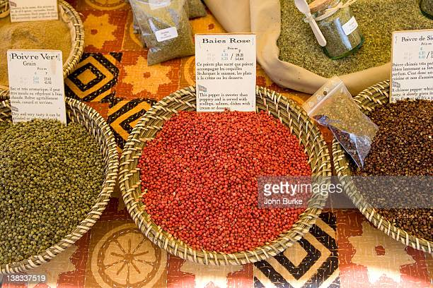 Spices Red Peppercorns