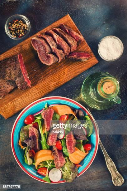 Spicy Beef Steak Salad