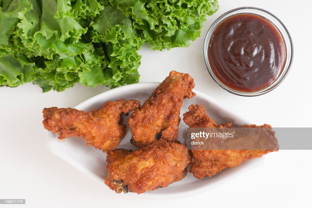 Spicy Chicken Wings with Hot Sauce