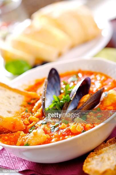 Soupe de poisson épicé