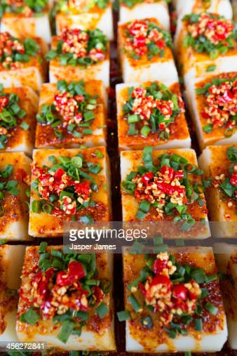 Spicy sichuan food in Cheng Du : Stock Photo