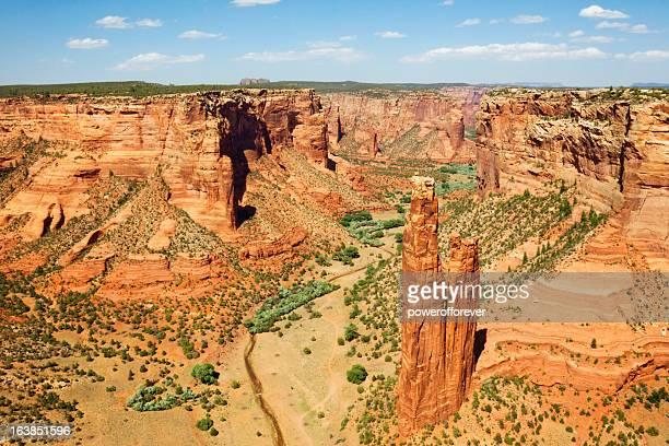 Spider Rock-Monumento Nacional do Canyon de Chelly