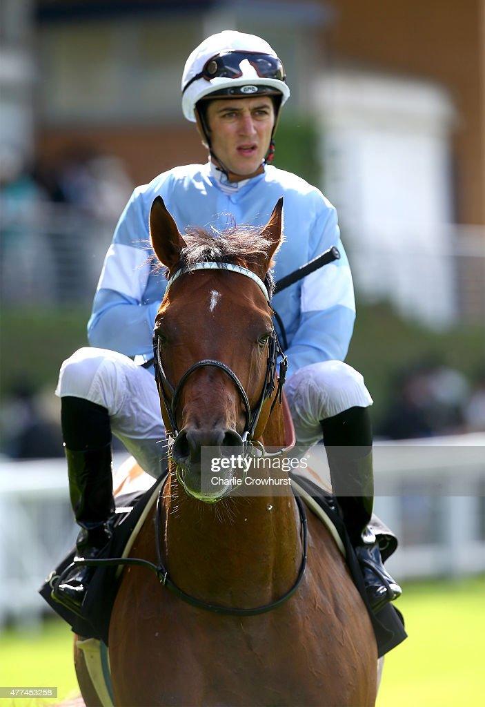 Spielberg ridden by <a gi-track='captionPersonalityLinkClicked' href=/galleries/search?phrase=Christophe+Soumillon&family=editorial&specificpeople=453308 ng-click='$event.stopPropagation()'>Christophe Soumillon</a> in the Prince of Wales Stakes during Royal Ascot 2015 at Ascot racecourse on June 17, 2015 in Ascot, England.