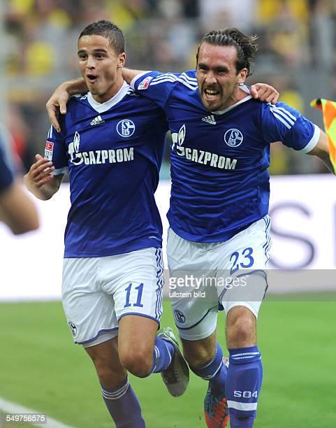 8 Spieltag Saison 2012/2013 Fussball Saison 20122013 1 Bundesliga 8 Spieltag Borussia Dortmund FC Schalke 04 12 Jubel Ibrahim Afellay li und...