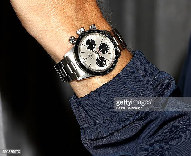 Spike Feresten Rolex watch detail attends AOL Build Presents to discuss the 3rd Season Of 'Car Matchmaker' at AOL HQ on August 24 2016 in New York...
