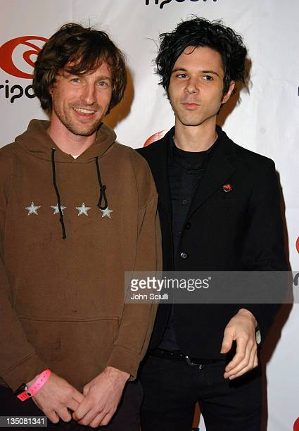 Spike Jonze and Nick Zinner of The Yeah Yeah Yeahs