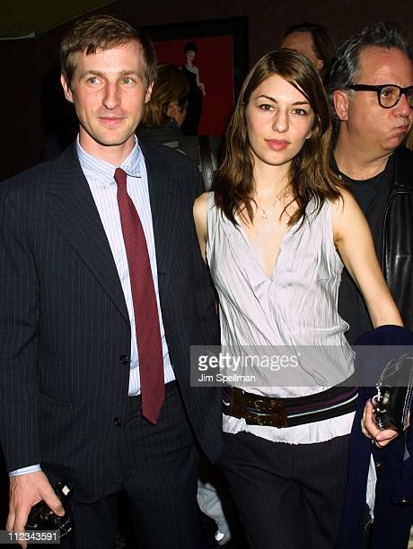 Spike Jonze producer Sofia Coppola during New York Premiere of 'Human Nature' at Chelsea West Theater in New York City New York United States