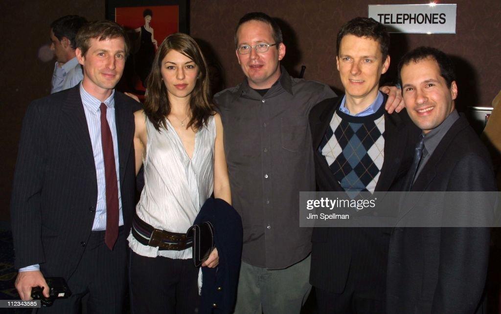 Spike Jonze, producer, Sofia Coppola, producer Ted Hope ...