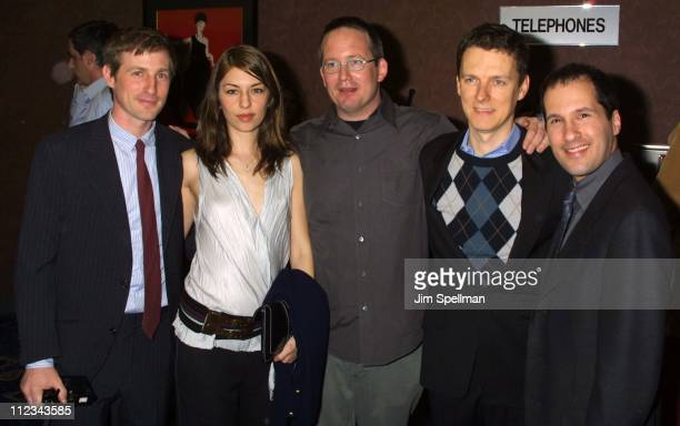 Spike Jonze producer Sofia Coppola producer Ted Hope director Michel Gondry Fine Line President Mark Ordesky