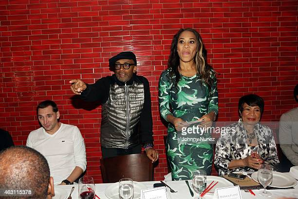 Spike Lee and Monica Floyd host 'Da Sweet Blood Of Jesus' dinner reception at Red Stixs on February 9 in New York City