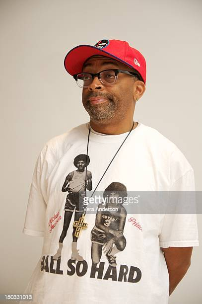 Spike Lee at the 'Red Hook Summer' Press Conference at Four Seasons Hotel on August 14 2012 in Beverly Hills California