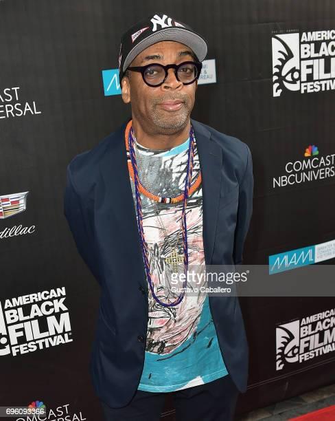 Spike Lee attends 2017 American Black Film Festival on June 14 2017 in Miami Florida
