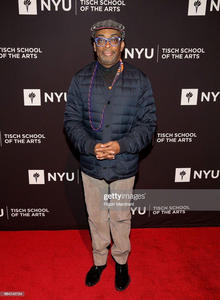 Spike Lee attends NYU Tisch School of the Arts' 2017 Gala at Cipriani 42nd Street on April 3, 2017 in New York City.