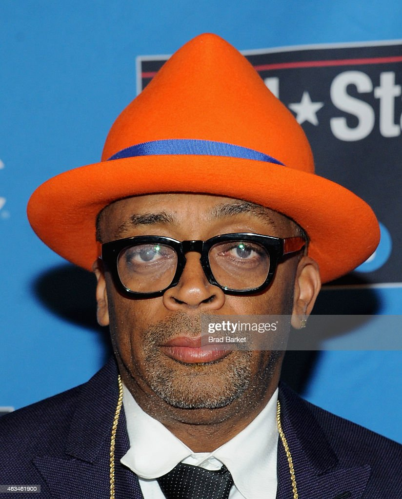 <a gi-track='captionPersonalityLinkClicked' href=/galleries/search?phrase=Spike+Lee&family=editorial&specificpeople=156419 ng-click='$event.stopPropagation()'>Spike Lee</a> attends State Farm All-Star Saturday Night - NBA All-Star Weekend 2015 at Barclays Center on February 14, 2015 in New York, New York.
