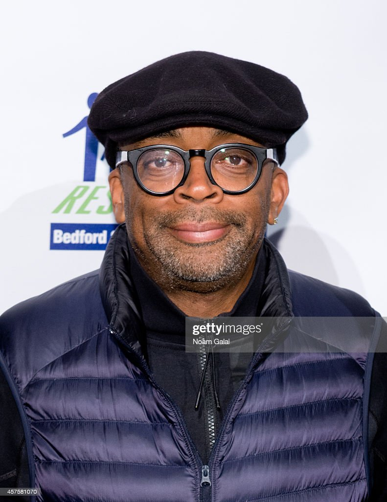 <a gi-track='captionPersonalityLinkClicked' href=/galleries/search?phrase=Spike+Lee&family=editorial&specificpeople=156419 ng-click='$event.stopPropagation()'>Spike Lee</a> attends the 2014 Restore Brooklyn Benefit at Frederick P. Rose Hall, Jazz at Lincoln Center on October 20, 2014 in New York City.