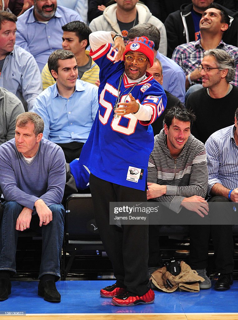 <a gi-track='captionPersonalityLinkClicked' href=/galleries/search?phrase=Spike+Lee&family=editorial&specificpeople=156419 ng-click='$event.stopPropagation()'>Spike Lee</a> attends the Chicago Bulls VS New York Knicks at Madison Square Garden on February 2, 2012 in New York City.