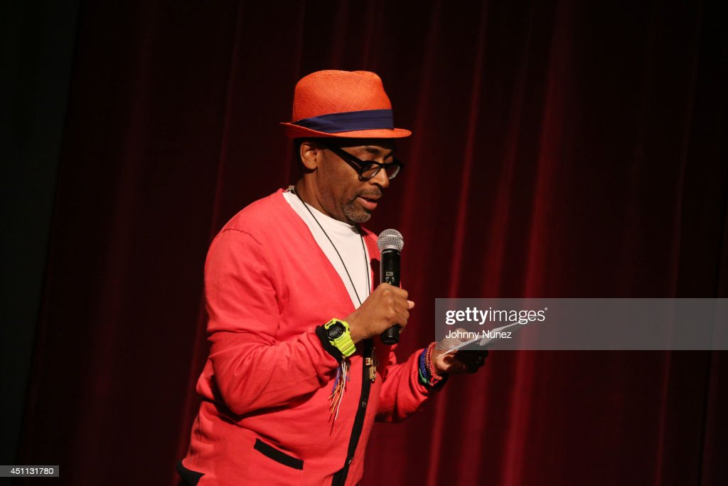 Spike Lee attends the 'Da Sweet Blood Of Jesus' cast and crew special screening at DGA Theater on June 23, 2014 in New York City.