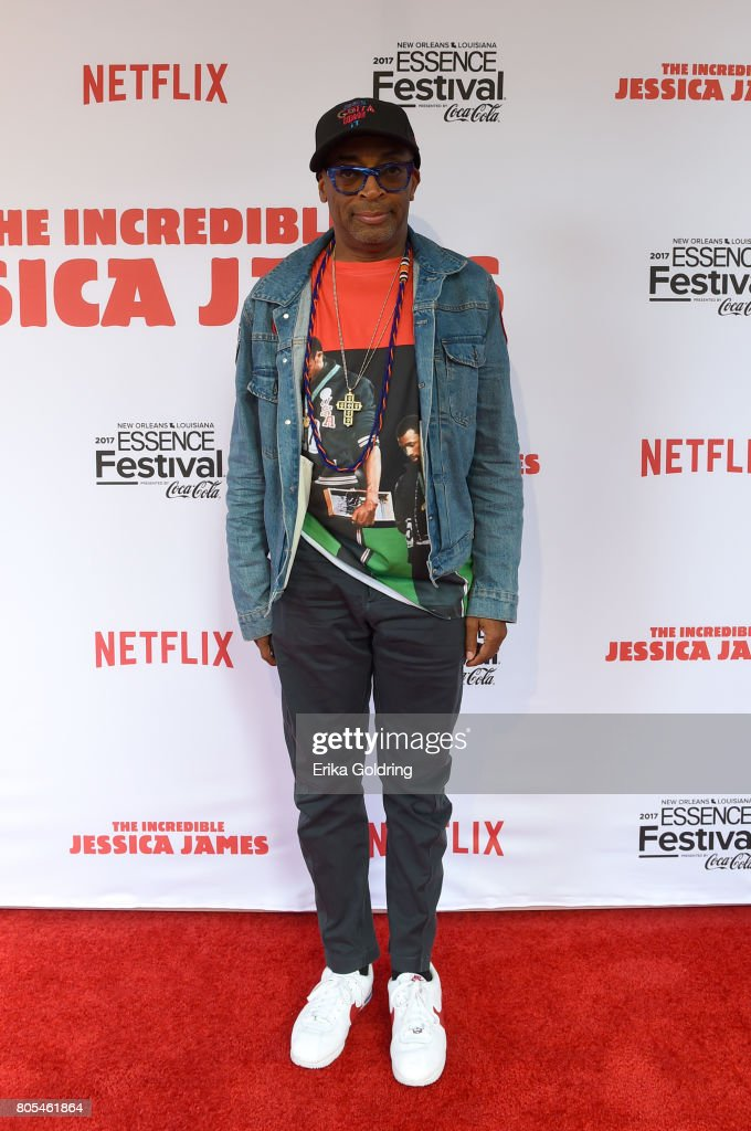 Spike Lee attends the Premiere Of Netflix Original Film 'The Incredible Jessica James' At The 2017 Essence Festival on July 1, 2017 in New Orleans, Louisiana.