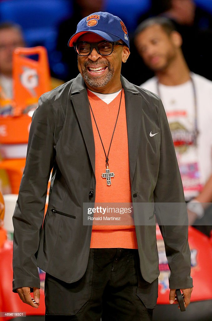 Spike Lee attends the Sears Shooting Stars Competition 2014 as part of the 2014 NBA All-Star Weekend at the Smoothie King Center on February 15, 2014 in New Orleans, Louisiana.