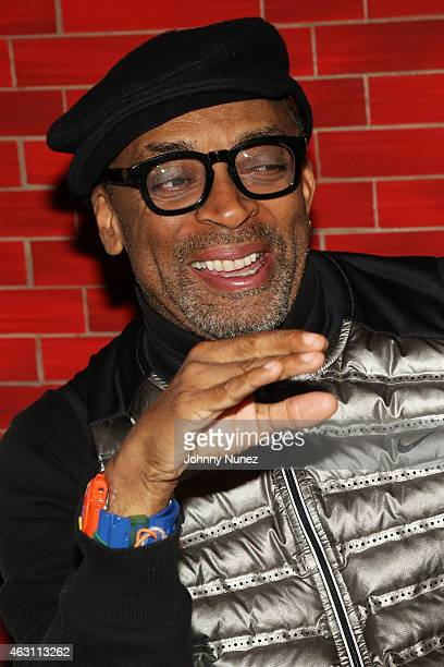 Spike Lee hosts 'Da Sweet Blood Of Jesus' dinner reception at Red Stixs on February 9 in New York City