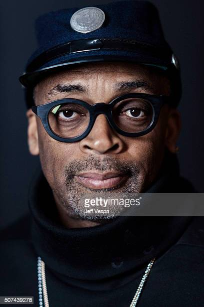 Spike Lee of 'Michael Jackson's Journey from Motown to Off the Wall' poses for a portrait at the 2016 Sundance Film Festival on January 23 2016 in...