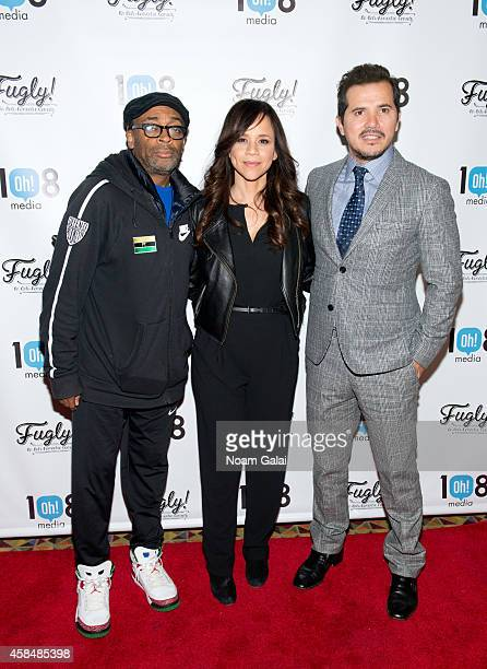 Spike Lee Rosie Perez and John Leguizamo attend the New York premiere of 'Fugly' at AMC Empire on November 5 2014 in New York City