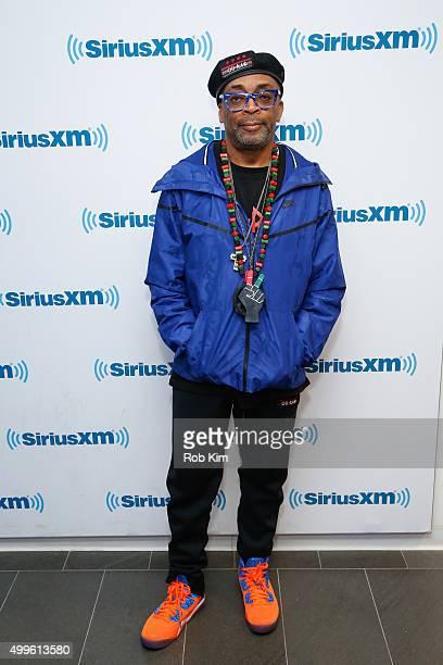 Spike Lee visits at SiriusXM Studios on December 2 2015 in New York City