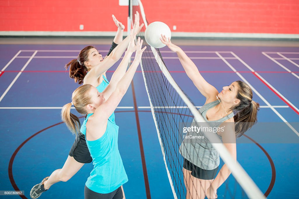 Spiking a Ball Over the Net