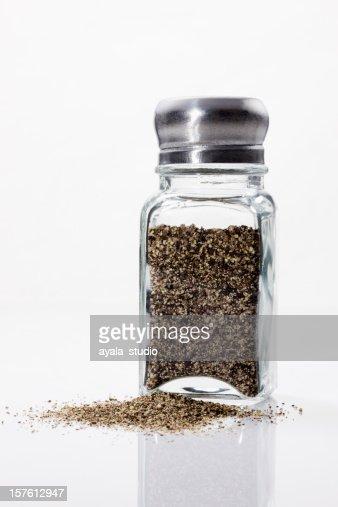 Spilled Pepper shaker