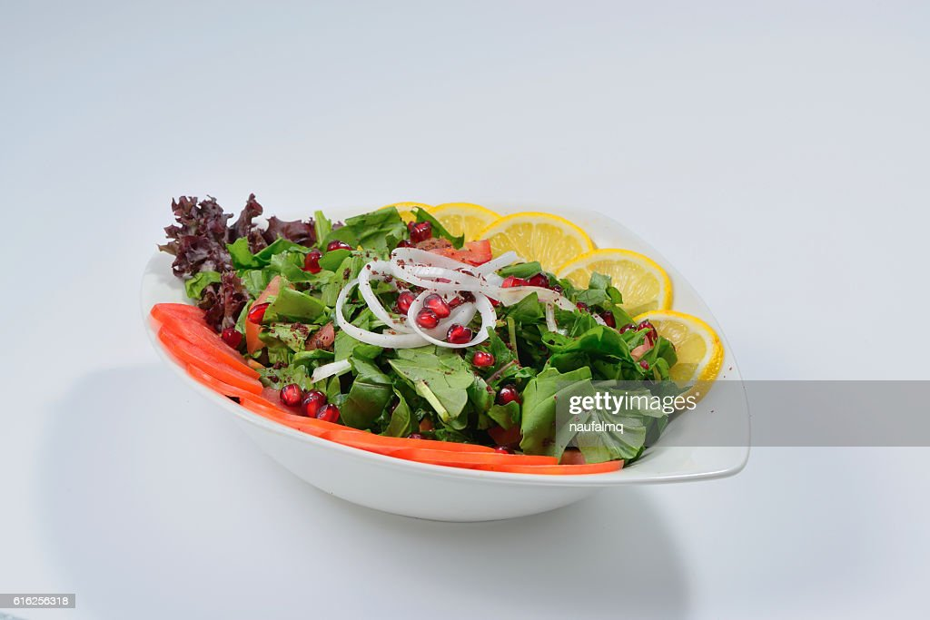 Spinach Rocca salad : Foto de stock