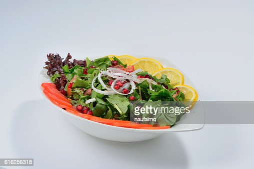 Spinach Rocca salad : Stock Photo