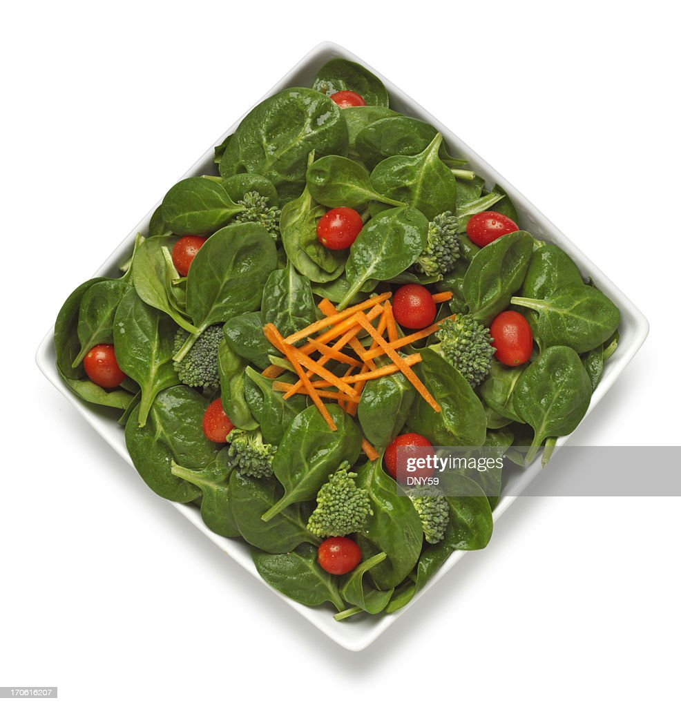 Spinach Salad : Stock Photo
