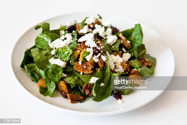 Spinat-Salat.
