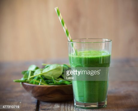 Spinach smoothie : Stock Photo