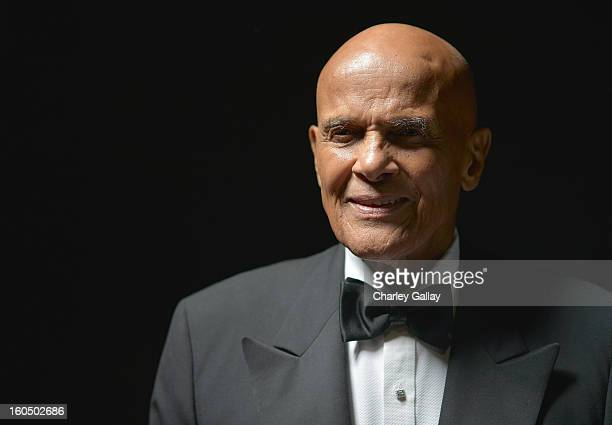 Spingarn Medal honoree Harry Belafonte poses for a portrait during the 44th NAACP Image Awards at The Shrine Auditorium on February 1 2013 in Los...
