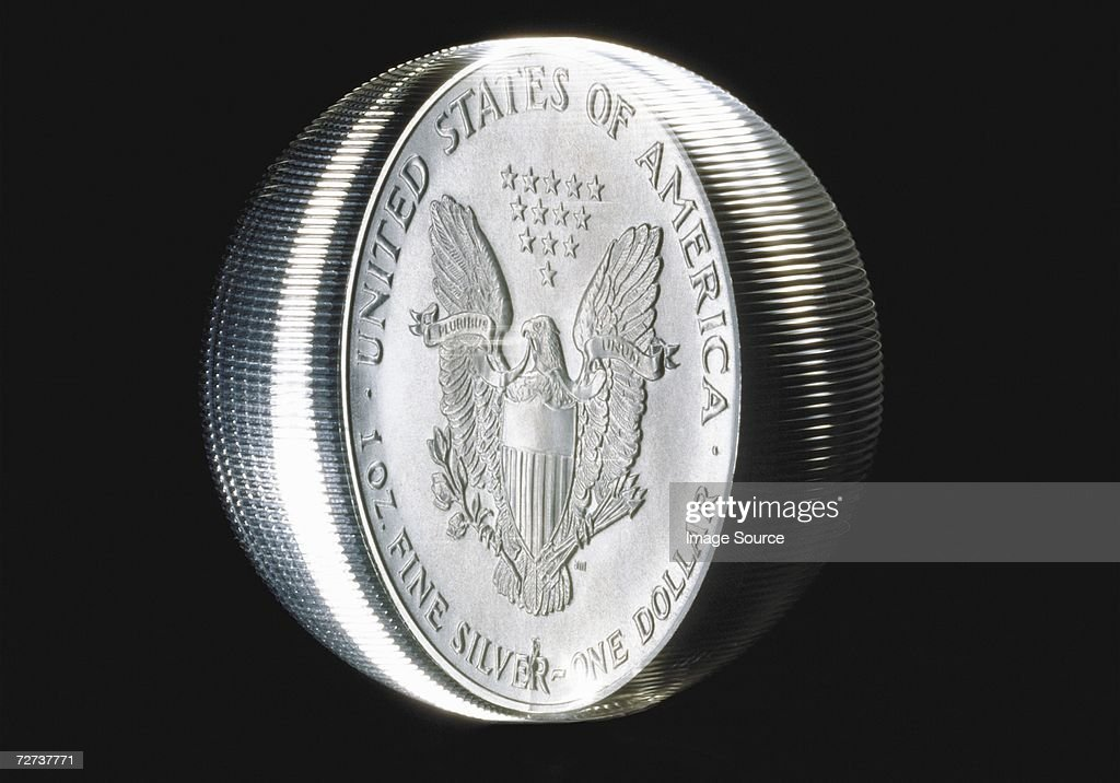 Spinning coin : Stock Photo