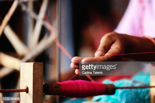 Spinning cotton
