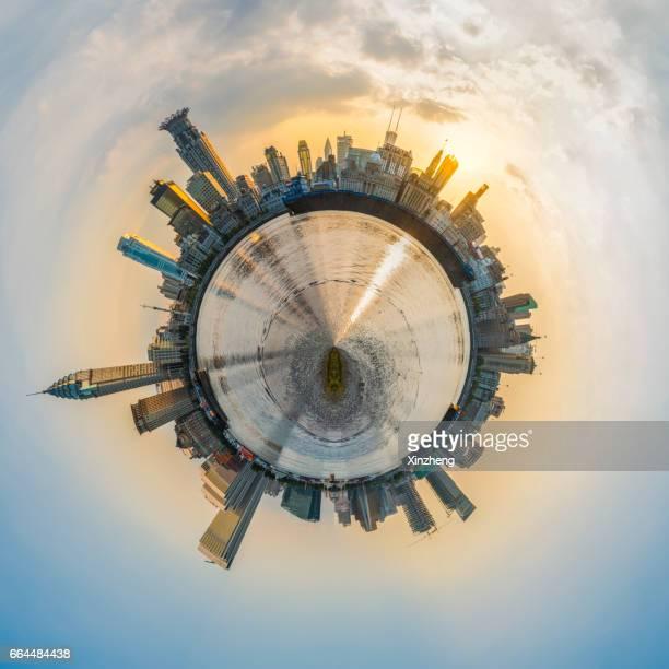 Spinning little planet